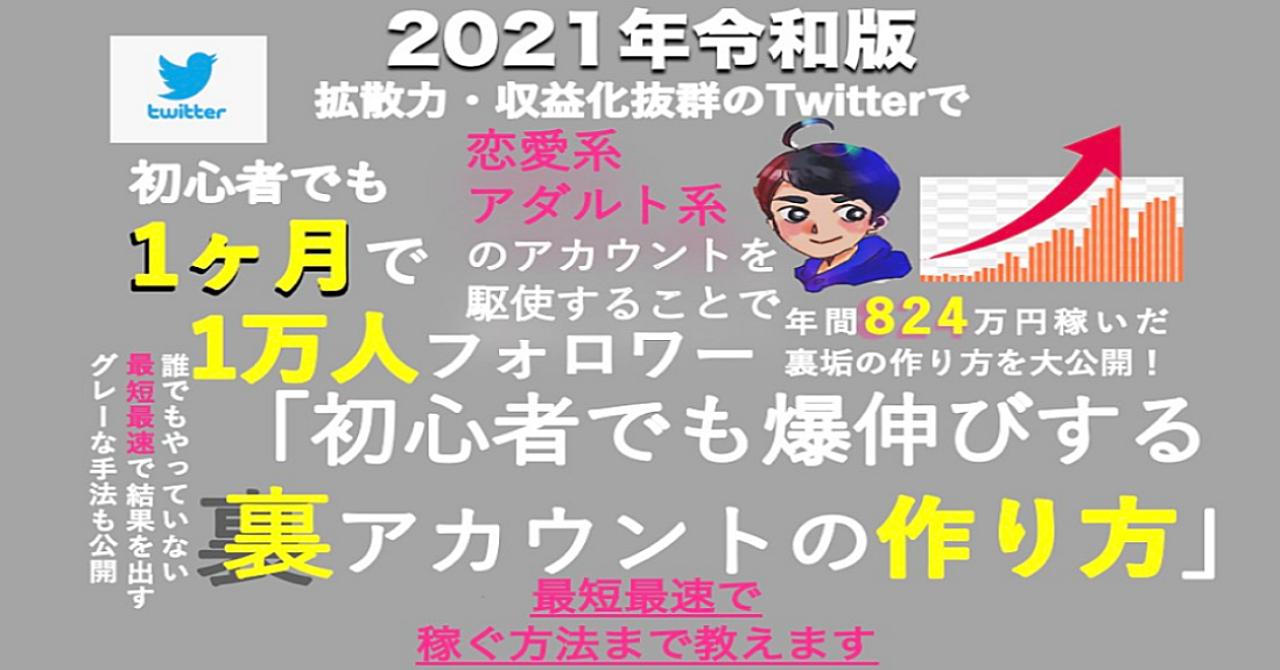 たった1つのTwitterエロ垢運用で年間823万円稼いだマネタイズ手法・フォロワーを最速で伸ばし稼ぐ方法 24