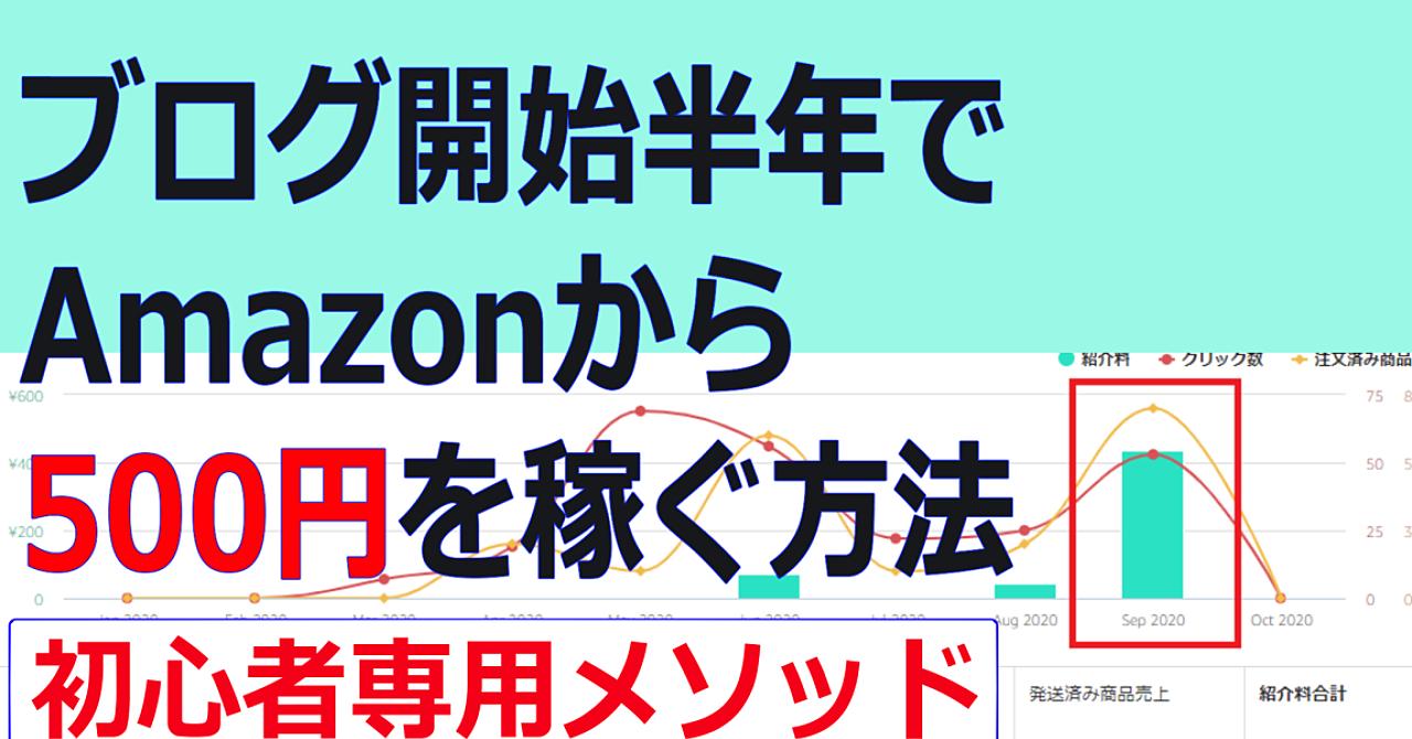 ブログ半年でAmazonアフィリエイトを成功させる最短手段!【アマアフィ】
