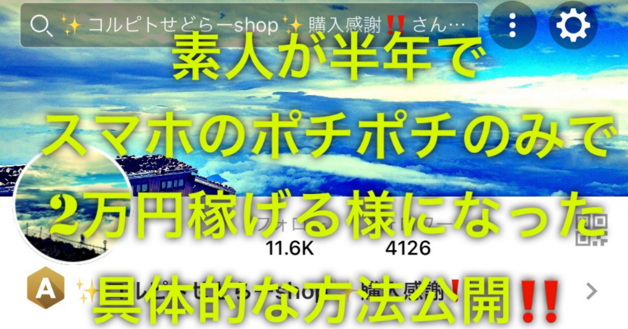 【副業初心者向け!!ポイ活‼️】素人が半年でスマホのみで楽天ポイントを2万円稼げるようになった具体的な方法7選公開‼︎